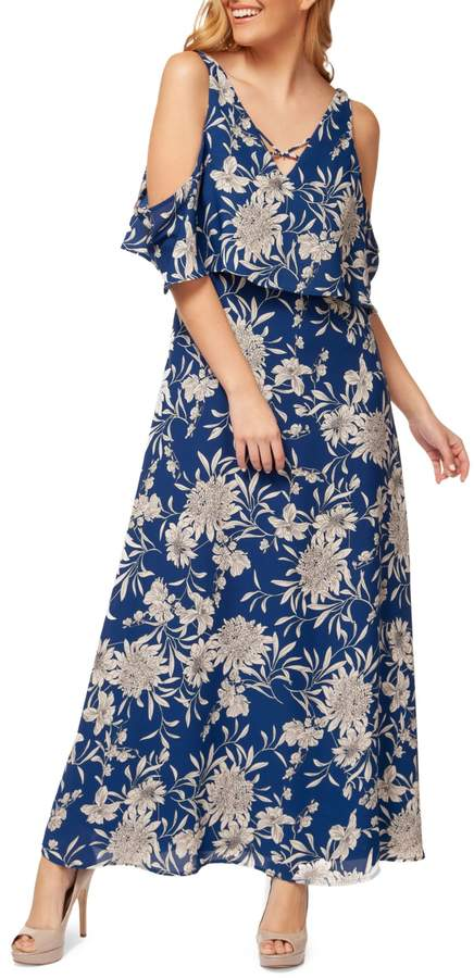 Dex Cold-Shoulder Maxi Dress