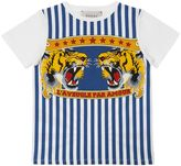 Gucci Tigers Print Cotton Jersey T-Shirt