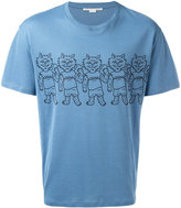 Stella McCartney cats print T-shirt