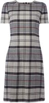 Barbour Lambs Wool Tartan Glenn Shift Dress