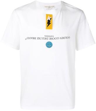 Golden Goose patch detail T-shirt