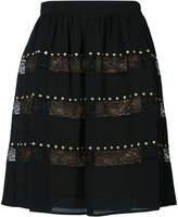 MICHAEL Michael Kors studded lace skirt
