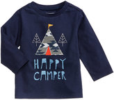 First Impressions Happy Camper-Print Cotton T-Shirt, Baby Boys (0-24 months), Created for Macy's