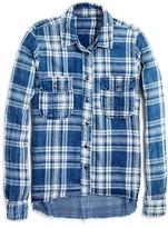 Blank NYC BLANKNYC Girls' Plaid Shirt - Big Kid