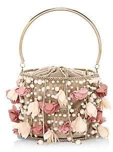Rosantica Women's Holli Fresia Embellished Top Handle Bag