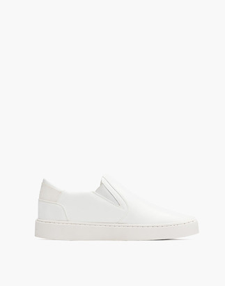 Madewell Thousand Fell Vegan Leather Slip-On Sneakers