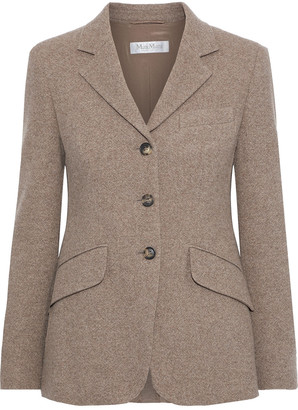 Max Mara Wool And Cashmere-blend Blazer