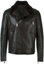 Neil Barrett biker leather jacket