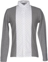 Grey Daniele Alessandrini Shirts - Item 38643714