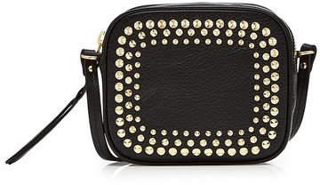 Alexander McQueen Mini Embellished Leather Camera Bag