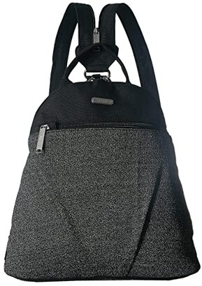Baggallini Anti Theft Convertible Backpack (Black Anti Theft) Backpack Bags