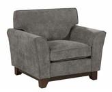 Aghvarth Chenille Fabric Wooden Armchair Winston Porter