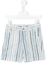 Il Gufo striped shorts - kids - Cotton/Spandex/Elastane - 4 yrs