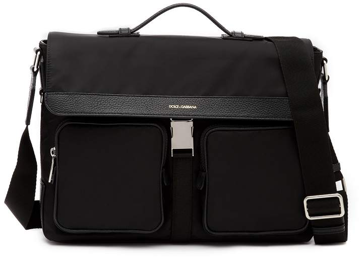 Dolce & Gabbana Nylon Messenger Bag