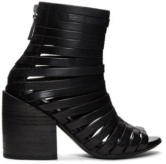 Marsèll Black Coltellone Boots