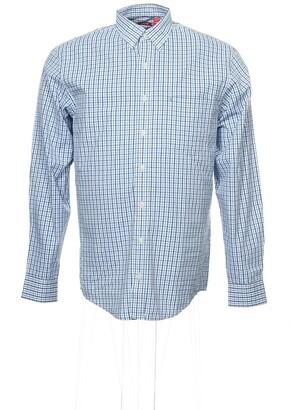 Izod mens Big and Tall Long Sleeve Stretch Performance Tattersal button down shirts