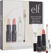 e.l.f. Cosmetics Pout Out Loud 4 Piece Lip Regimen Set
