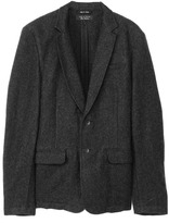Rag and Bone Leather Patched Phillips Blazer