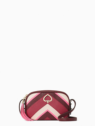 Kate Spade Kourtney Chevron Camera Bag