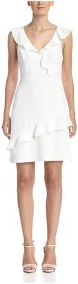 ABS by Allen Schwartz A B S By Allen Schwartz Women's Ruffle Dress
