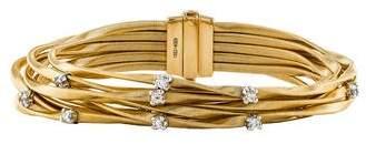 Marco Bicego 18K Diamond Nine Strand Bracelet