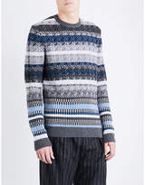 Boss Crewneck Wool Jumper