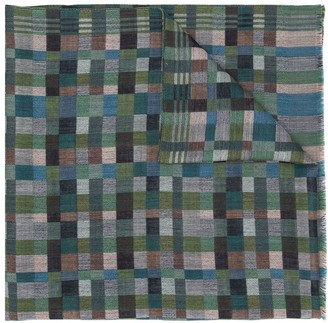 Missoni Square Pattern Scarf