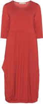 Isolde Roth Plus Size Stretch-jersey dress