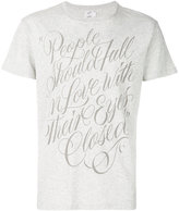 Closed 'love' print T-shirt - men - Cotton - S