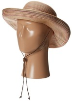 San Diego Hat Company MXM1014 Mixed Braid Kettle Brim Hat