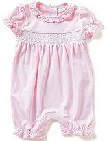 Edgehill Collection Baby Girls Newborn-6 Months Smocked Romper