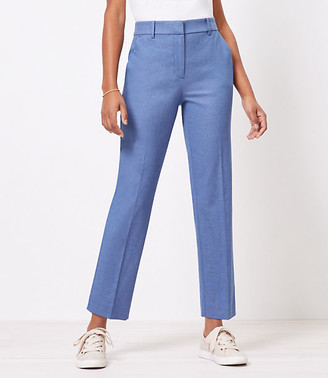 LOFT The Perfect Straight Pant in Stretch Double Weave