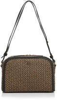 Eric Javits Squishee Courbe Raffia Shoulder Bag