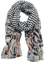 Betty Barclay Long Striped Scarf, Multi