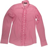 Aglini Pink Cotton Top for Women