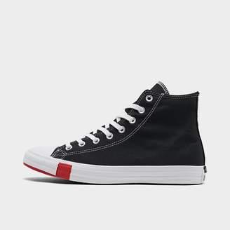 Converse Men's Chuck Taylor All Star Multi Logo High Top Casual Shoes