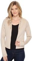 Cruel - Studs Detail Ponte Knit Blazer Women's Jacket