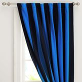 Rugby Stripe Drape, 108&quot, Navy/Strong Blue