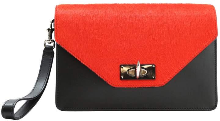 Givenchy Shark leather clutch bag