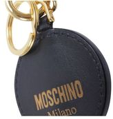 Moschino Leather Key Holder