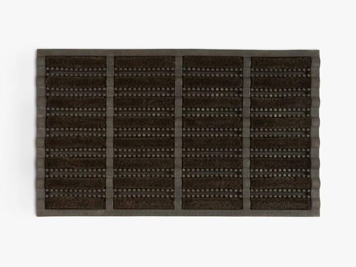 Thumbnail for your product : John Lewis & Partners Rubber and Coir Door Mat, Black
