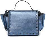 Persaman New York Renee Metallic Studded Crossbody