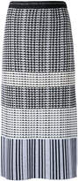 Proenza Schouler monochrome knitted pencil skirt