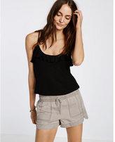 Express Mid Rise Utility Soft Shorts