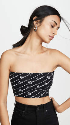 Versace Knit Tube Top