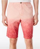 """Calvin Klein Jeans Men's Gradient Palm-Print Cotton 10.5"""" Shorts"""
