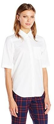 Trina Turk Women's Svelte Elbow Sleeve Button up Shirt