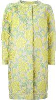 Ermanno Scervino floral brocade coat