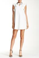 Gracia Jeweled Collar Dress