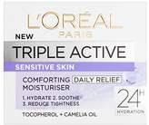 L'Oreal Triple Active Day Moisturiser Sensitive Skin 50ml